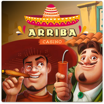 arriba casino sidebar